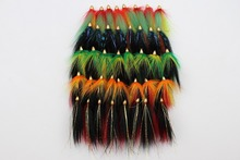 Wholesale!! 40 pcs Assorted Popular Cone Heads Tube Flies Salmon Fly Trout Fly Fishing Lures