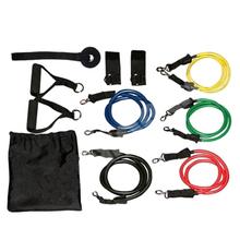 Pilates Latex Tubing Expanders Yoga Resistance Fitness Band Home Exercise Elastic Training Rope Set