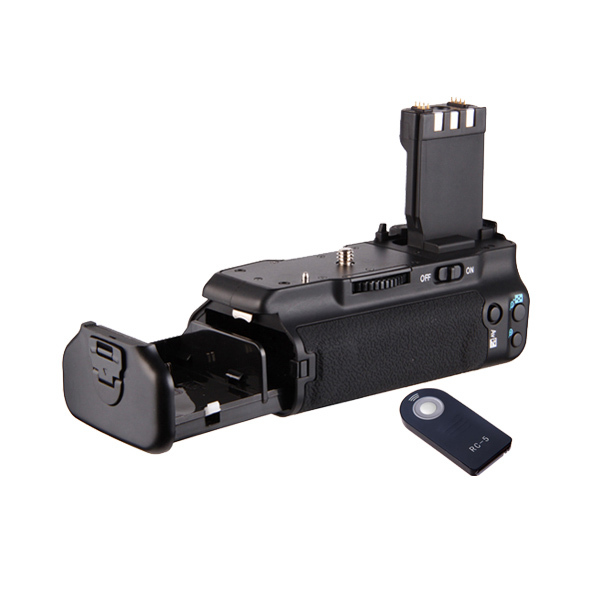Multi-Power Battery Grip For CanonEOS 500D/450D/1000D/Rebel Xsi/XS/T1i+RC-5 remote