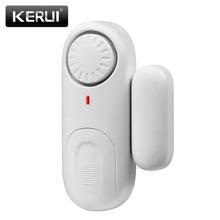 Buy 2017 KERUI D1 Wireless Small Independent Magnetic Standalone door/window sensor alarm home office store shop security alarm for $5.73 in AliExpress store