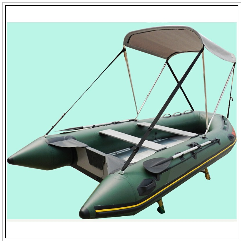 2016 CE Certificate China Factory OEM 6 Persons Inflatable Boat With Sunshade(China (Mainland))