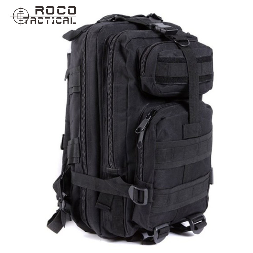 ROCOTACTICAL Mens Military 3P Attack Backpack Every Day Carry Tactical Assault Molle Hiking Travel Camping - store