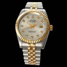 Reloj automático maquinaria wristwatchs movimiento hombres reloj mecánico de relojes reloj luminoso saat regalo relogio masculino