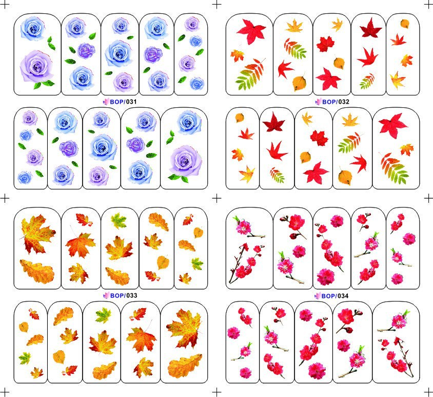 Bop series big sheet water decal with each model at least 5pcs(China (Mainland))