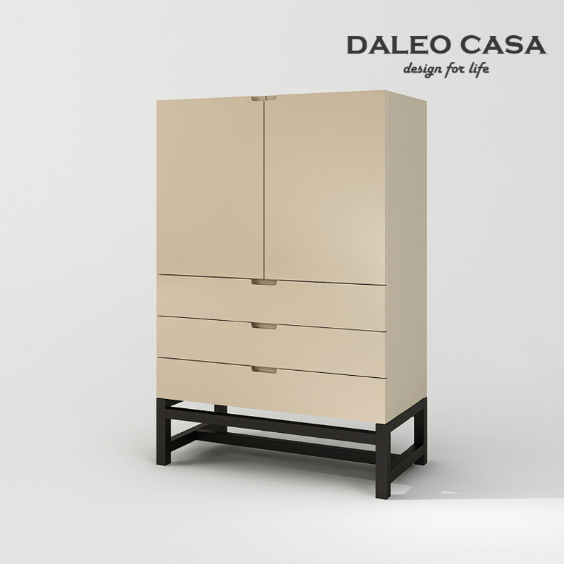 Milan Fashion Design Living Room Study Lockers Cabinets