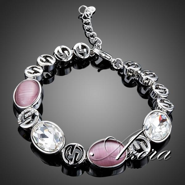 AZORA 2015 Fashion Jewelry Charm with Stellux Austrian Crystal Bracelet TS0114<br><br>Aliexpress