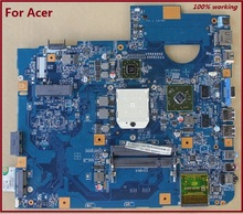 60 days warranty Laptop Motherboard For Acer Aspire 5536 5536G 5542 5542G 48.4FN01.011 Non-integrated DDR2 100% Tested(China (Mainland))