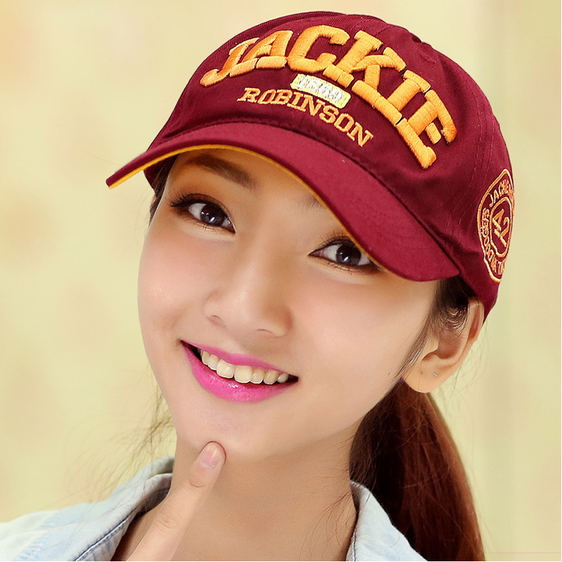 MB12 Korean casual fashion sports cap JACKIE baseball caps sun hat free shipping(China (Mainland))