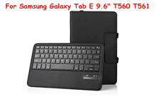 For Samsung Galaxy Tab S2 8.0 T710 T715 Tablet Detachable ABS Bluetooth Keyboard Portfolio Folio Slim PU Leather Case Cover(China (Mainland))