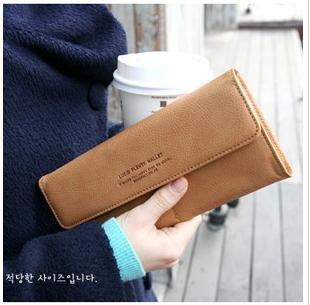 free shipping !2013 new design fashion  women's long  PU wallet/hot billfold Clutch/3 candy color