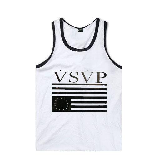 hip hop VSVP Muscle Tank 100% male cotton o-neck vest men male loose skateboard undershirt basic Men's sports vest free shipping(China (Mainland))