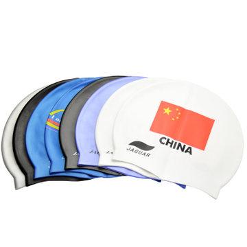 Здесь можно купить  2014 Promotion Time-limited Freeshipping Sky Light Plum Intergards Silica Gel Swimming Cap Fashion Print Waterproof Cp Flag - A  Спорт и развлечения