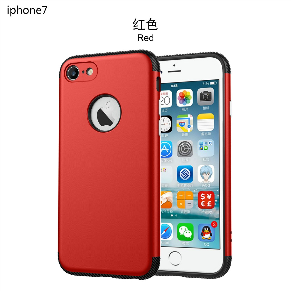 for iPhone 7 Case Original Brand Hard PC Case Protective Shell Skin Phone Cases For iPhone 7 7 Plus(China (Mainland))