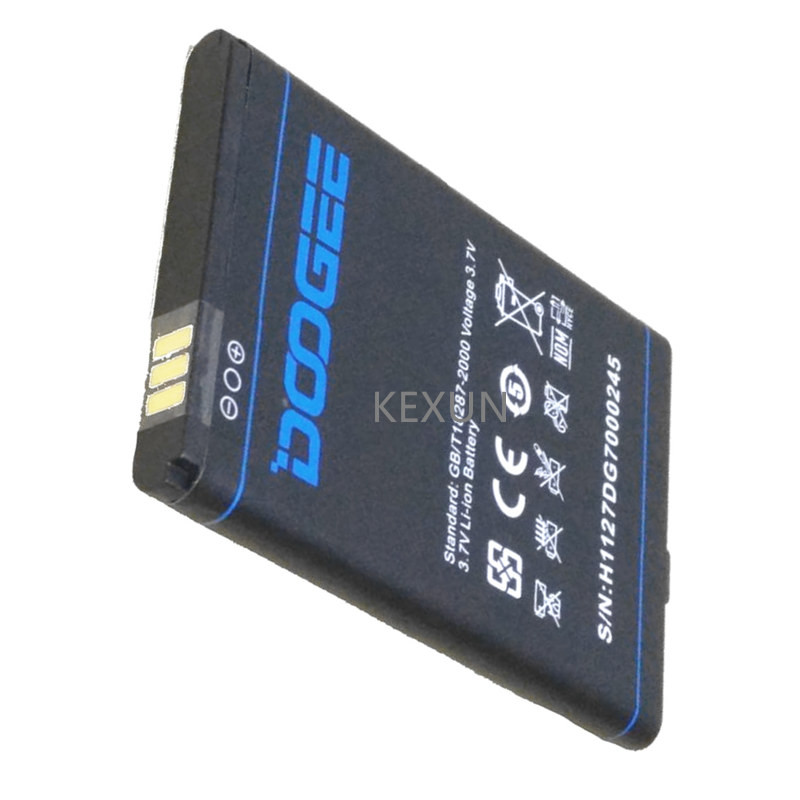 Mobile Phone Doogee DG700 Battery Repalcement Accessory 4000mAh Li-ion backup Batterie For DOOGEE TITANS2 DG700