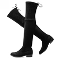 2016 women thigh high boots over the knee motorcycle boots winter and autumn woman shoes plus