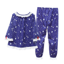 The new song Riel comfortable pajamas cartoon couple of men and women fashion casual tracksuit suit