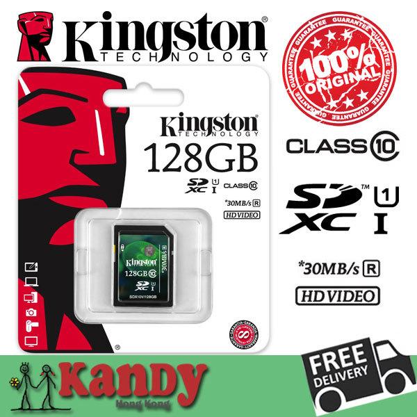 Kingston memory card sd hc xc SDHC SDXC uhs-i HD video 8gb 16gb 32gb 64gb 128gb class 10 cartao de memoria carte sd tarjeta sd(China (Mainland))