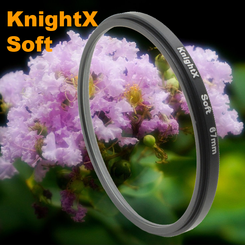 Soft Focus Effect Diffuser Lens Filter For Sony Canon Nikon 52mm 58mm 67mm Lens SLR camera 2015 new KnightX + tracking 112 K(China (Mainland))