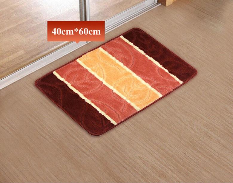 home decoration Polypropylene Jacquard carpet floor Super comfortable doormat kitchen bathroom bath mats absorbent non-slip(China (Mainland))