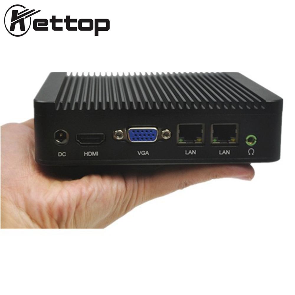 Kettop Mi19C Desktop Computers Celeron J1900 Up To 2.42GHz VGA + H-D-M-I Dual Display Linux Ubuntu Best Mini pc(China (Mainland))