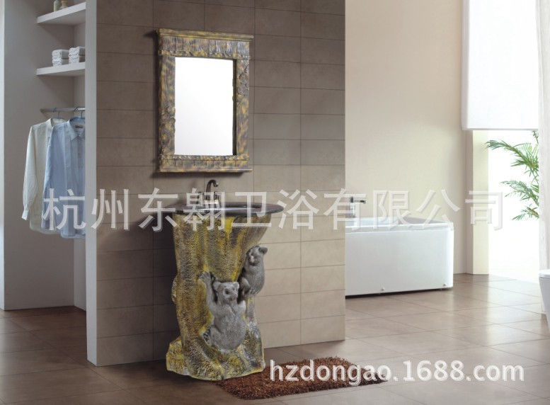 Wall-mounted bathroom cabinet stock sale flamboyant artistic quality assurance can be customized arts cabinet DA(China (Mainland))