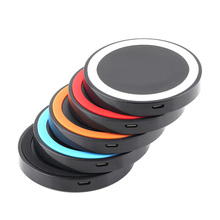 5 Colors Universal Qi Wireless Power Charging Charger Pad For Mobile Phone for iPhone 6 High Quality(China (Mainland))