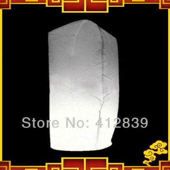 New Arrival 5pcs/lot Cylinder Sky Lantern Mixed Color Wishing Light UFO Balloon with free shipping