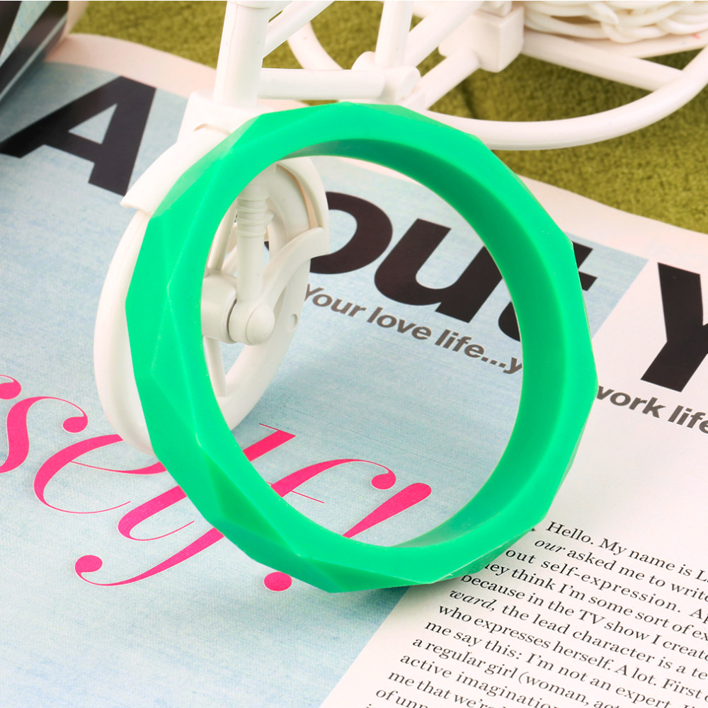 Soft Silicone Baby Teething Nursing BPA Free Chewable Bangle Bracelet Safe Hot Selling<br><br>Aliexpress
