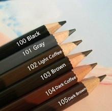6Pcs QILAIYI makeup brand Eyebrow pencil Enhancer waterproof Eye Brow pen long lasting eyebrows to eye Cosmetic Eye Liner(China (Mainland))
