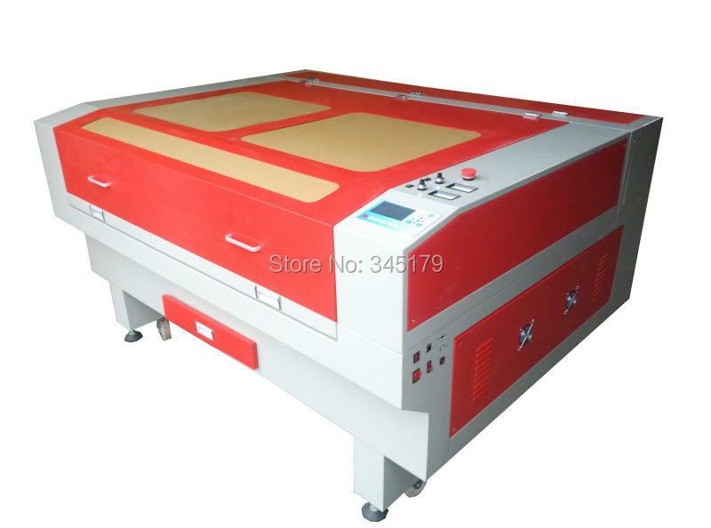 1490 100w CO2 laser engrave machine / laser cut machine used for ABS , acrylic ,cloth ,leather and other non-metallic materials(China (Mainland))