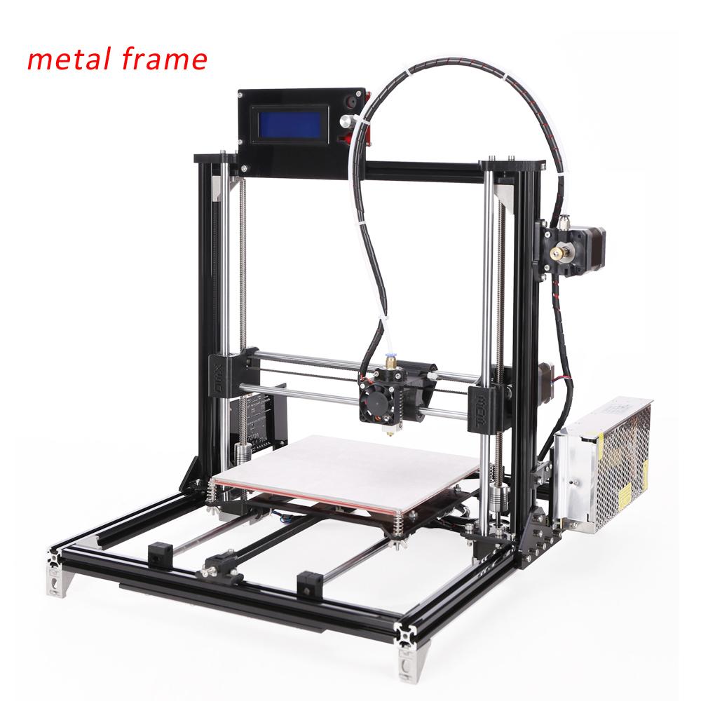 2016 New Aluminium Structure Reprap Prusa i3 3D Printer Kit Large Printing Size DIY 3d Printer