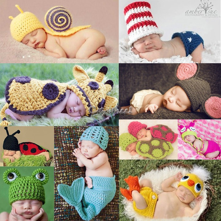 sale Infant Baby Christmas Knitted Cotton Crochet Costume hat shoes boots Photo Photography Prop Newborn baby props clothes 36(China (Mainland))
