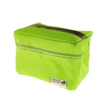 Pvc Tote Camping Thermal Insulated Lunch Food Box Carry Bag Picnic Pouch 4 Color Bags White