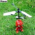 Small RC Spider Man Aircraft Flying Induction Helicopter Kid Baby Toys Quadcopter Drop Shipping