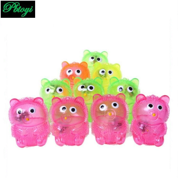 Flash whistle bear flash toys selling toys stall selling toys wholesale PA0074(China (Mainland))