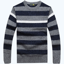 free shipping AFS JEEP brand high quality O neck style sweater striped more colors choice classic sweaters 88(China (Mainland))