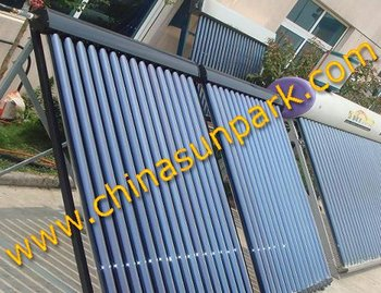 HP547x1500 and 20 tubes solar collector