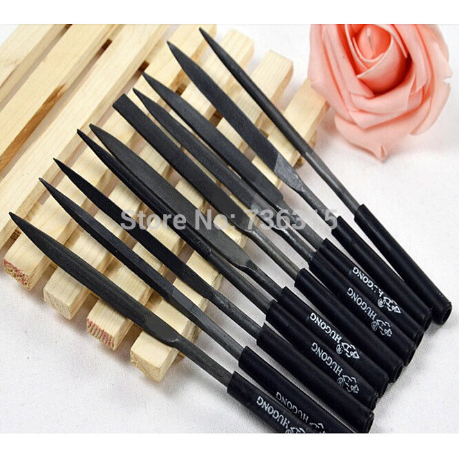 A16 Free Shipping 10pcs/Lot Needle File Set Files For Metal Glass Stone Jewelry Wood Carving Craft  IA842 P<br><br>Aliexpress