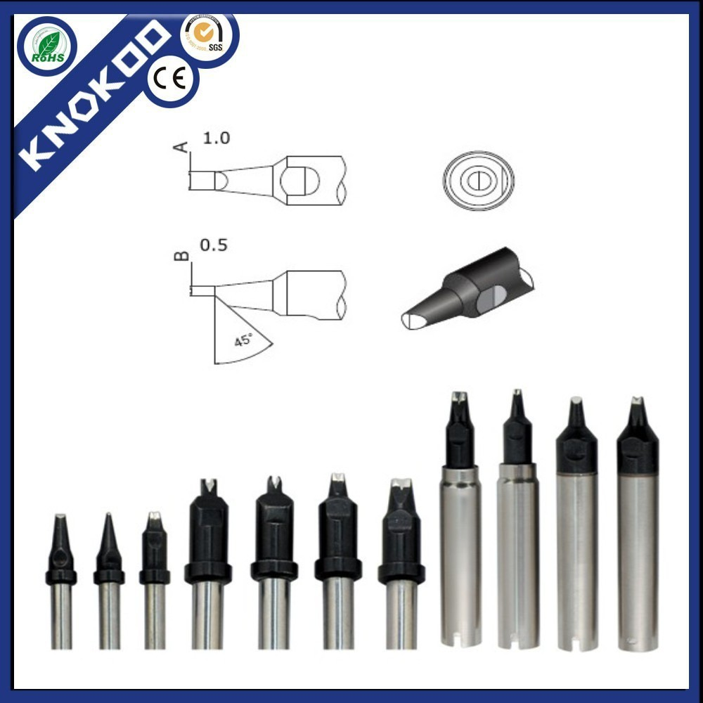 50pcs/lot high quality Quick soldering iron tips 911G-10PC soldering bits, welding Iron Tip for Quick Soldering Robot station(China (Mainland))
