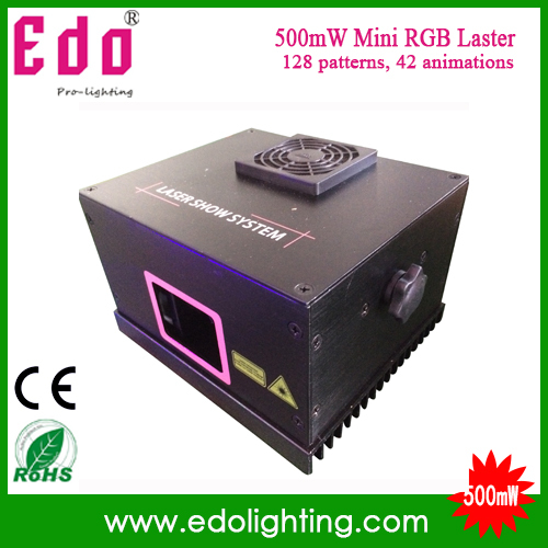 500mW dj Laser Light Show Projector Mini Outdoor Christmas stage Laser Lights(China (Mainland))