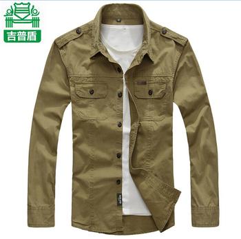 Осень мужчины рубашка бренд AFS JEEP нянь длинная свободного покроя рубашки без тары ...