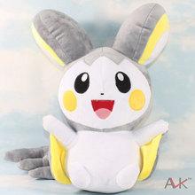 Wholesale 5Pcs/Lot 32Cm Japanese Anime Cartoon Pokemon Plush Toy Emolga Stuffed Animals Plush Doll kawaii Toys Children Gifts