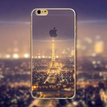 "Endless Mountains Modern City Painted Soft TPU For Apple iPhone 6  6S ""4.7""inch Mobile Phone Back Skin Cases Cover WHD1440(China (Mainland))"