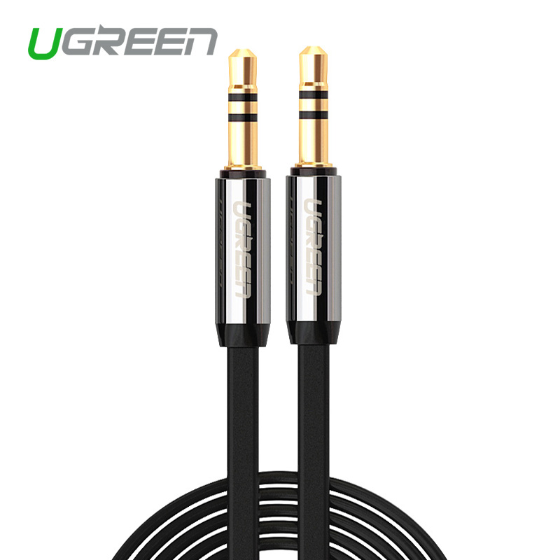 ugreen high quality jack 3 5 car aux cable male to male audio cable 1m 2m 3m 5m for iphone. Black Bedroom Furniture Sets. Home Design Ideas