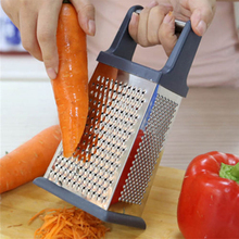 4 Sided Stainless Steel Multifunctional Grater Nutmeg Cheese Vegetable Grater For Kitchen Hand Utensil Tool(China (Mainland))