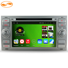 Silver Panel HD 1024*600 Quad Core 16GB Android 4.4 DVD Car PC For Ford Galaxy Fiesta Fusion Focus S-max C-max + CANBUS(China (Mainland))