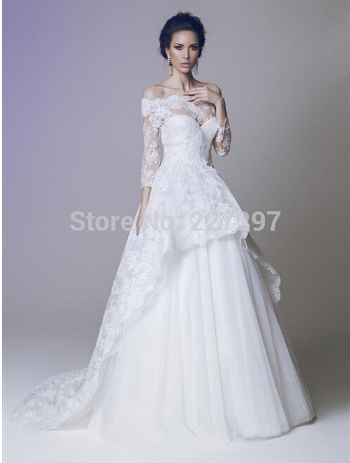 Summer style unique 2015 hot sale ball gown wedding for Unique wedding dress styles