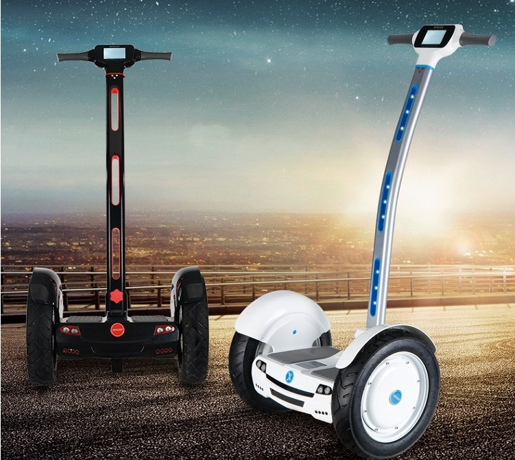 15 Inch High Tech Materials two-Wheel Self balancing scooter transporter Vehicle off road Motocross Hoverboard with LED Display<br>