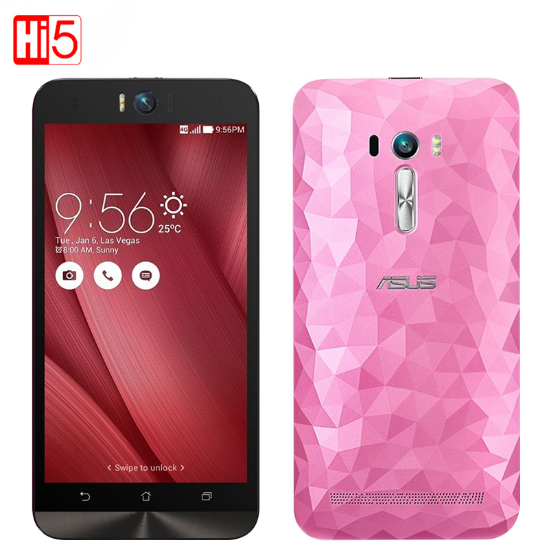 Original Asus Zenfone Selfie ZD551KL Mobile Phone Octa Core MSM8939 5.5 inch Screen FDD 4G Front Camera 13.0mp Smart phone