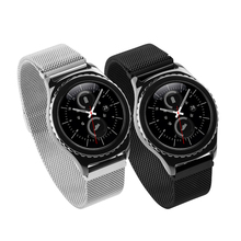 HOCO 1:1 Original Link Bracelet strap & Milanese Loop watchbands Stainless Steel band for Samsung Gear S2 Classic Watchband